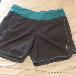 Reebok Athletic Shorts with Pockets and Zipper